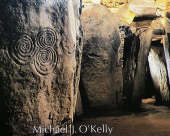 Labyrinthic figure at the recess of Newgrange