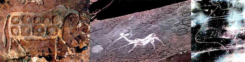 twyfelfountain kudu and man, palaeolithgic  cheles toro, naquane